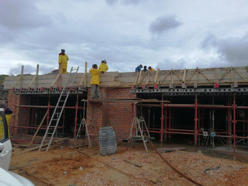 Construction process by Stilbaai Builders