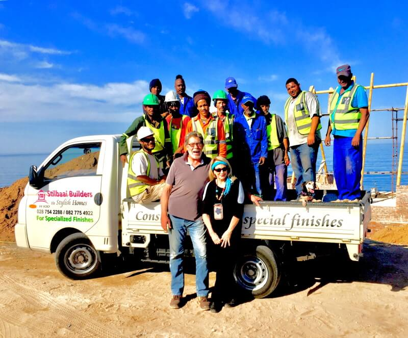 Construction process by Stilbaai Builders the Team